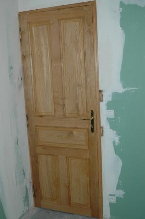 Porte interieur en chene